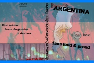 2 dvd argentina fans,loud and proud