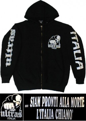 jacket full zip ultras italia