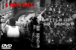 4 dvd box riots g8 genova