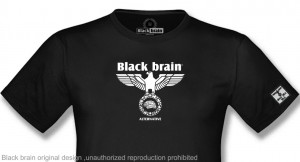 T-shirt Black Brain FLying Eagle