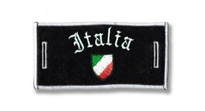 Removable badge Italia Tricolore
