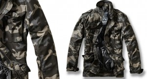 Field Jacket Black Camo