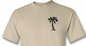 T-shirt Afrikakorps Palm