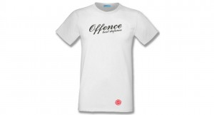 T-shirt Offence Best Defence