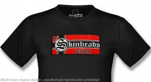 t-shirt skinheads nation