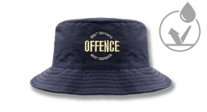 Winter fishermans hat   Offence Best Defence