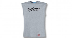 T-SHIRT SLEEVELESS OFFENCE BEST DEFENCE