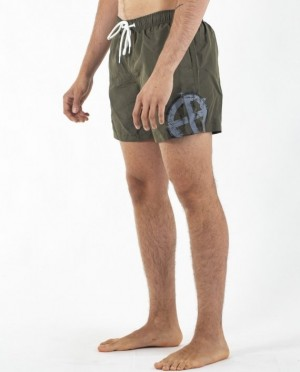 EB Swimming Trunks – Army