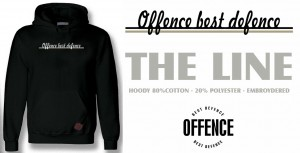 Hoodie Offence The Line