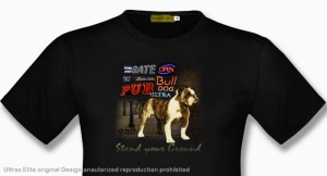 T-SHIRT ULTRAS ELITE BULLDOG SIGNS