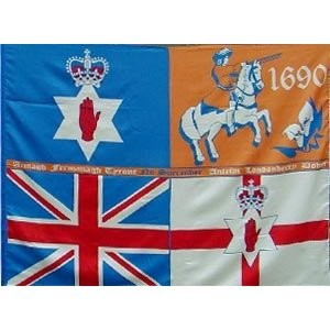KING BILLY SCARF ULSTER NO SURRENDER 1690