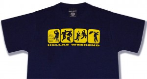 t-shirt hellas weekend