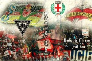 5 dvd box derby di milano