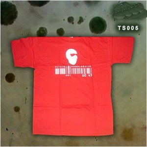 t-shirt ultras barcode