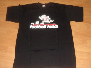 t-shirt my football team