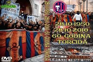 dvd 60 years anniversary torcida split