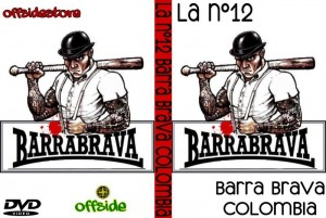dvd barra brava colombia