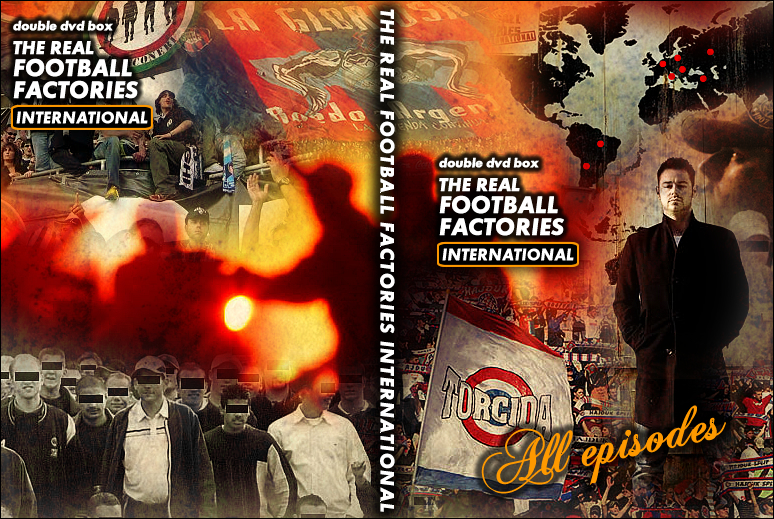 Dvd Box The Real Football Factories International Uk