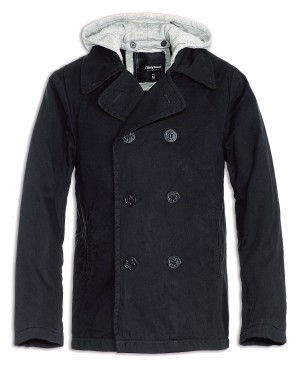 hooded streetcoat black