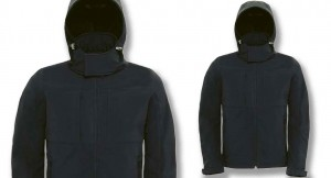parka softshell black