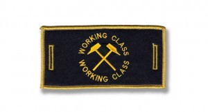 removable badge working class