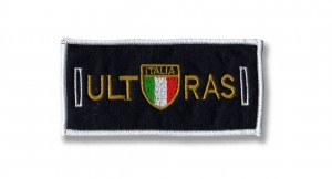 removable badge ultras italia scudo