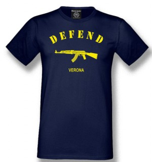 t-shirt defend verona