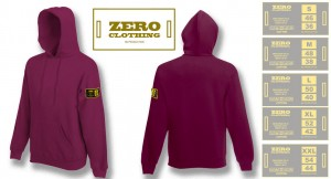 hooded sweat Zero